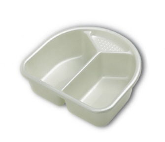 Rotho Wash bowl TOP -  With the two-piece Rotho wash bowl with soap holder, you can wash your little sunshine convenient and easy.