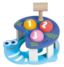 BoiKido Hammer game - Snail - The BoiKido hammer game Snail makes lots of fun, promotes the fine motor skills and is perfect suitable for your favorite from the age of 12 months of life