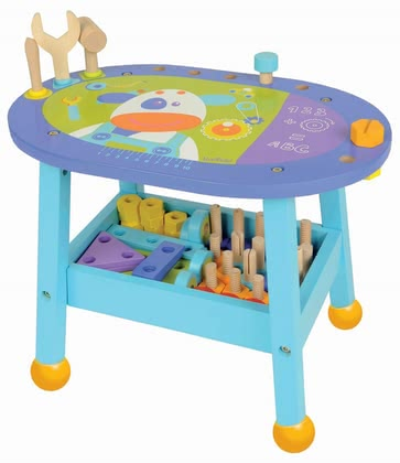 BoiKido workbench - The BoiKido workbench offers endless combination options, supports the creativity and is a Must-have for all small crafts(wo)men