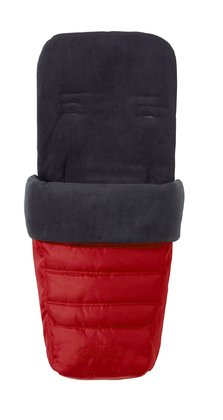 Baby Jogger foot muff for City Select Red 2016 - large image