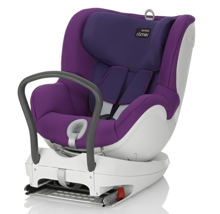 Britax Römer Child car seat DUALFIX - The Römer child car seat DUALFIX is a reboard car seat from birth up to an age of 4 years