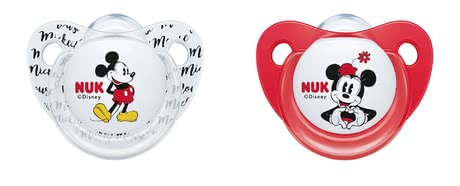 NUK Disney Soothers Trendline, Silicone Mickey rot - Imagen grande