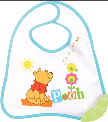 Rotho Bib with teether corner Winnie the Pooh 2015 - large image