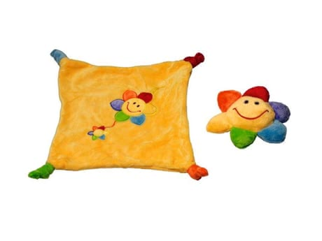 Sunkid rattle figure and cuddle cloth 2014 - большое изображение