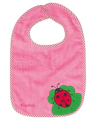Playshoes velcro bib XL - Clean Eating has to be learned - thanks to the large area of the ​​Playshoes XL-Velcro bib the shirt of your little darling is spared of spinach and Co.