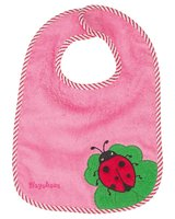 Playshoes velcro bib - The Velcro bib by Playshoes with cute animal face is a must on the meal!
