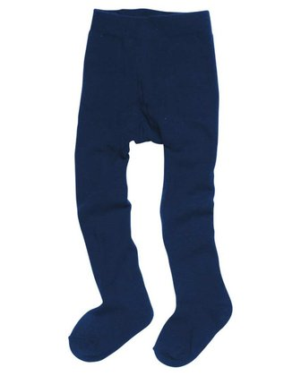 Playshoes thermal tights, plain marine 2016 - 大圖像