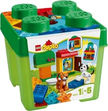 LEGO Duplo Starter Brick Box - The LEGO Duplo Starter Brick Box stimulates the imagination, encourages creativity and motor skills and is suitable for your favorite from 1.5 years of l...