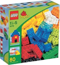 LEGO Duplo Basic Bricks -  The LEGO building blocks consists of 80 colorful building blocks and are ideal suited for the foundation