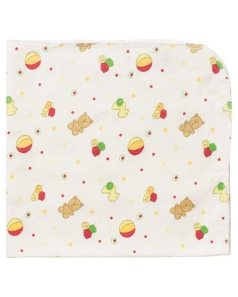 Playshoes flannelette cloths, pack of 2, patterned multicolor 2016 - large image