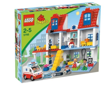 LEGO  Duplo Big City hospital 2014 - 大图像