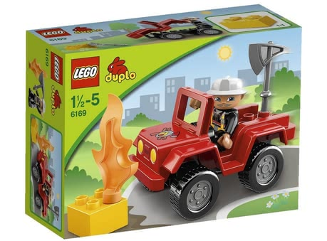 LEGO Duplo Fire Chief 2015 - 大圖像