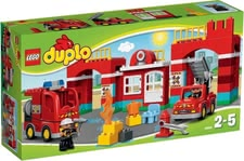LEGO Duplo fire brigade headquarter -  With the Fire Station from LEGO Duplo your favorite can discover the exciting world of firefighters