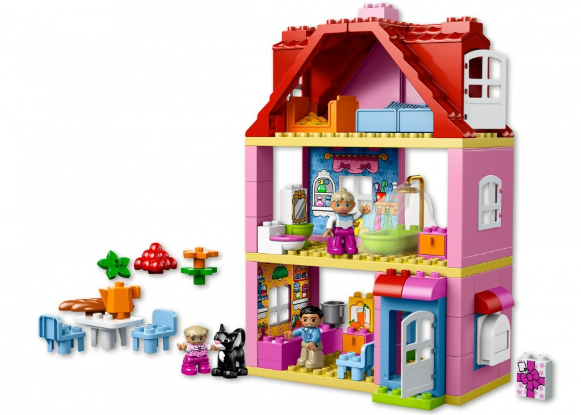 lego duplo family house 2016 buy online at kidsroom de play learn. Black Bedroom Furniture Sets. Home Design Ideas