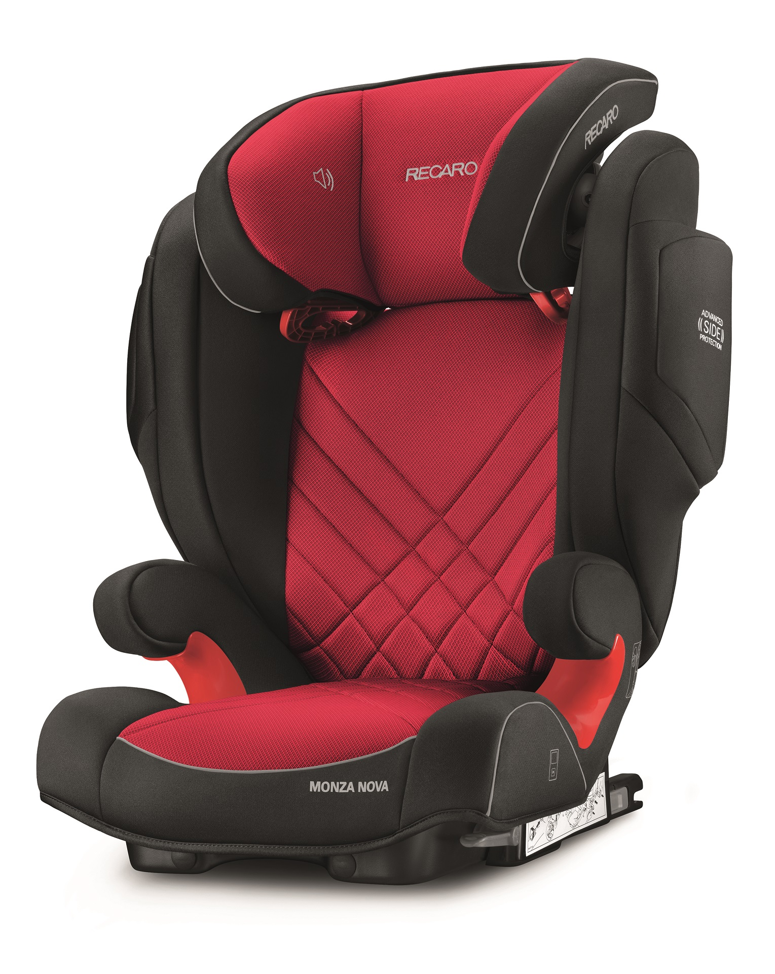 recaro kindersitz monza nova 2 seatfix 2018 racing red. Black Bedroom Furniture Sets. Home Design Ideas