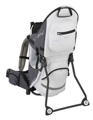 kiddy adventure pack back carrier Silber 2014 - Image de grande taille