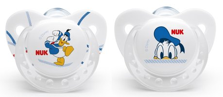 NUK Soother Disney Trendline Donald, silicone 2016 - 大圖像
