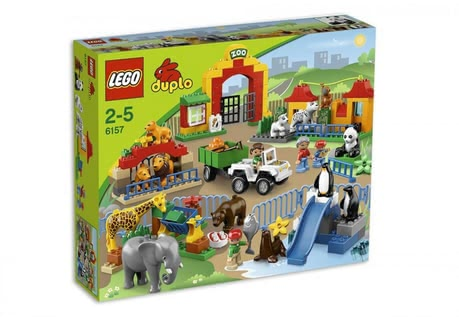LEGO Duplo Big City zoo 2014 - large image
