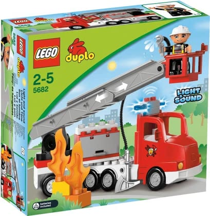 LEGO Duplo fire truck 2014 - large image