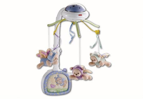 "Fisher Price – ""Dream bears"" mobile 2014 - large image"