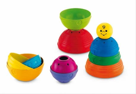 Fisher Price play-ball pyramid 2014 - large image