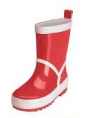 Playshoes wellies, plain Rot 2014 - large image