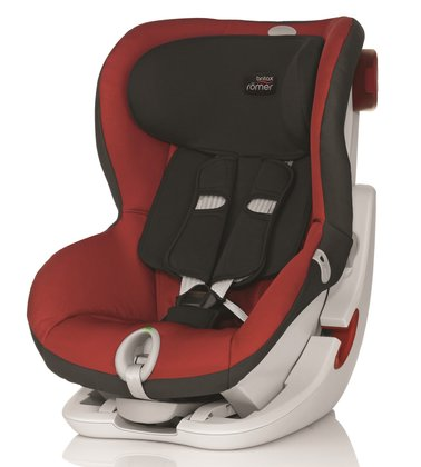 Детское автокресло Britax Römer King II LS Chili Pepper 2015 - большое изображение