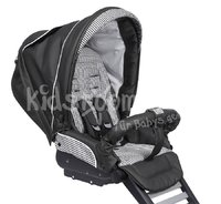 Teutonia Combi stroller Cosmo Graphite - The Teutonia Cosmo masters each turn effortless and provides a lot of comfort.