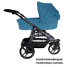 Teutonia push chair Spirit S3 Cool & Classic 5000_Gala Black 2014 - large image 3
