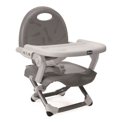 Chicco Booster seat Pocket Snack Silver 2017 - large image