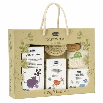 Chicco pure.bio Baby Natural Set, maxi box 2014 - большое изображение