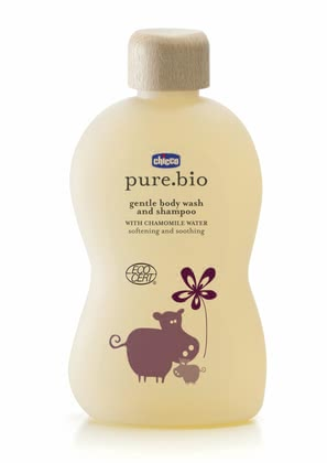 Chicco pure.bio mild foam bath for skin and hair, 200ml 2016 - 大圖像