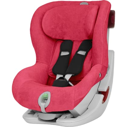 Britax Römer Summer cover for child car seat King II - The Römer summer cover is matching to the Römer child car seat King II LS and King II ATS and will absorb the heat of your sweetheart
