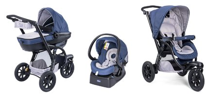 Chicco Travel-System Trio Activ 3推车 Blue Passion 2017 - 大图像