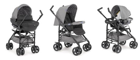 Chicco Travel-System Trio Sprint inkl. Kit Car Coal 2016 - Großbild