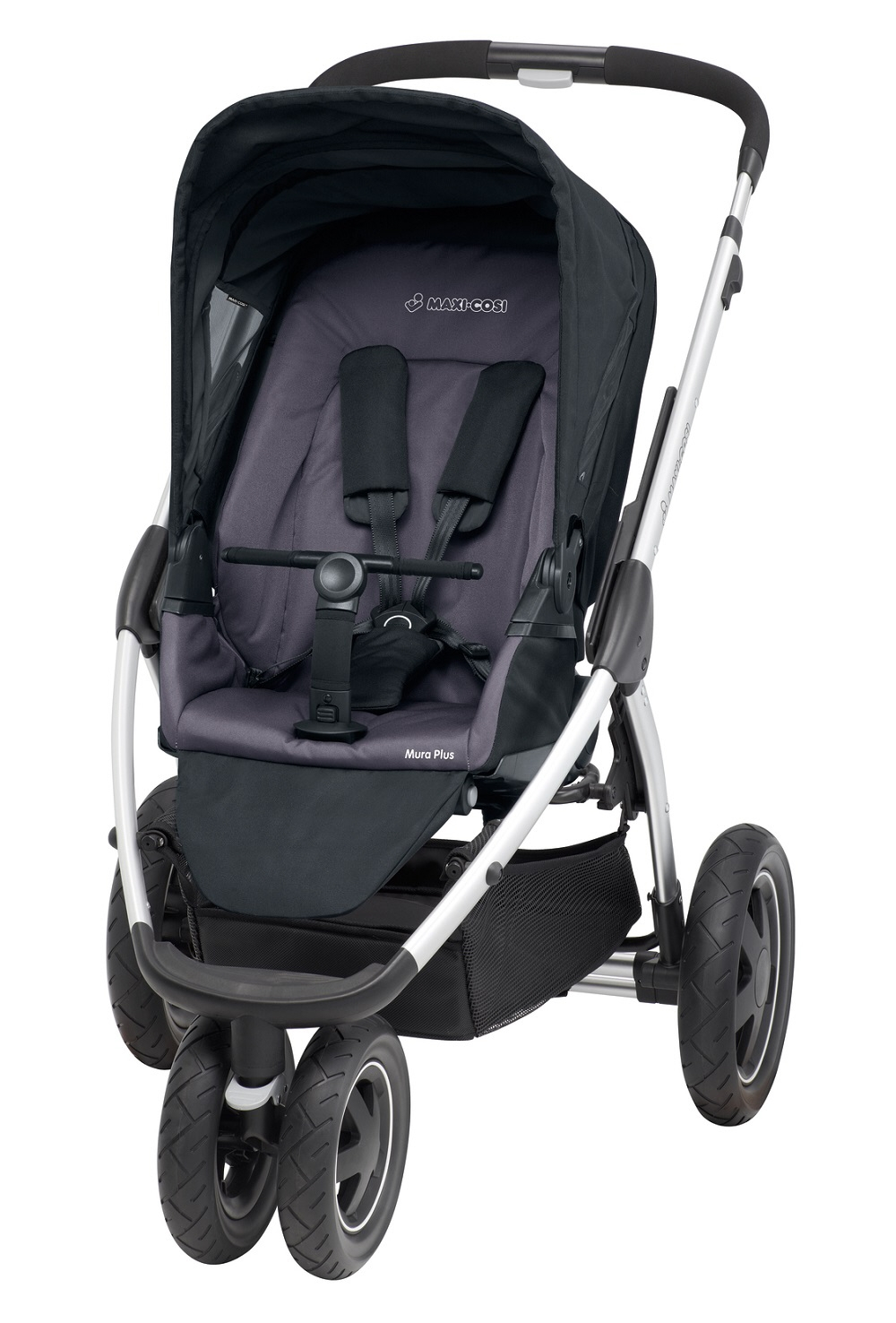 maxi cosi mura plus 3 kinderwagen 2014 total black online. Black Bedroom Furniture Sets. Home Design Ideas