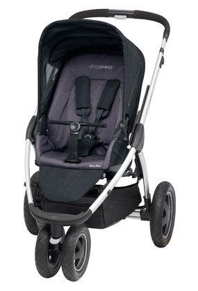 Maxi-Cosi Mura Plus 3 Kinderwagen Total Black 2014 - Großbild