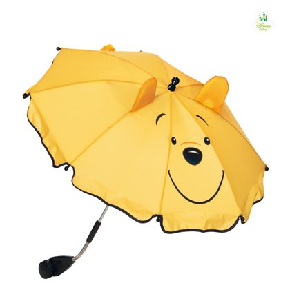 Disney baby parasol 3D Pooh yellow 2015 - 大圖像