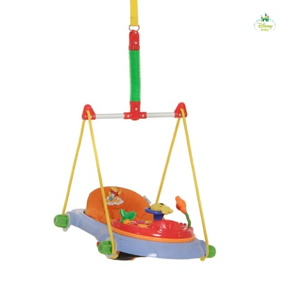 Disney door hopper Jump Deluxe, Winnie the Pooh -  With the comfortable bouncer Jump Deluxe you are promoting the natural urge to move of your child.