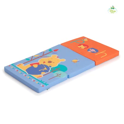Disney Sleeper matelas pour lit de voyage, Winnie l'Ourson - Le matelas de lit de voyage pratique et confortable dispose de son bébé exclusif de Disney Winnie l'ourson - conception.