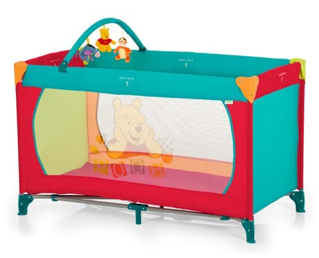 Disney baby travel cot Dream 'n Play, Winnie the Pooh 2015 - large image