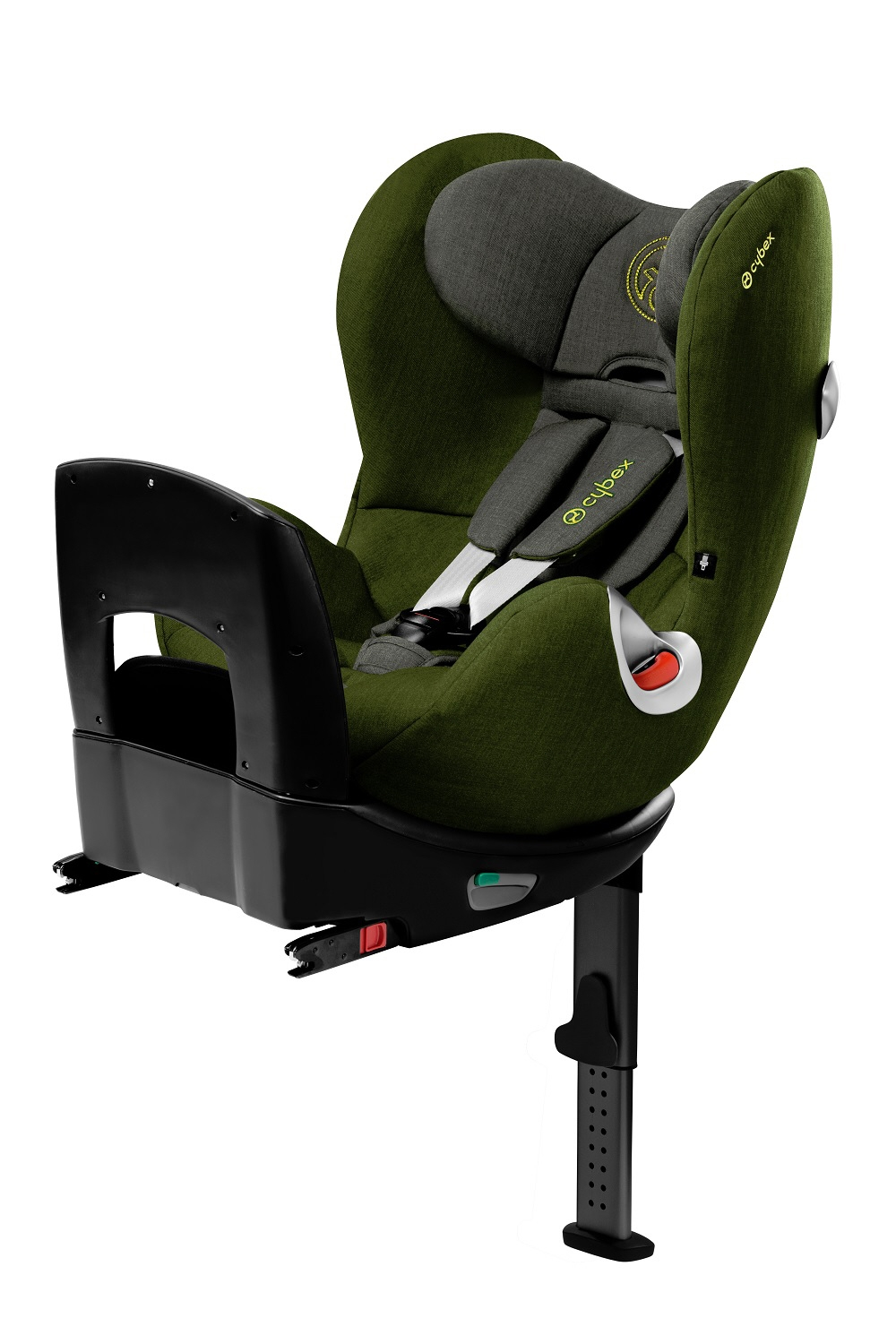 si ge enfant dos la route sirona plus par cybex 2014 cypress olive green acheter sur. Black Bedroom Furniture Sets. Home Design Ideas