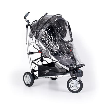 TFK Rain cover for Buggster - The TFK rain cover is suitable for the buggy Buggster and protects your loved one from wind and weather