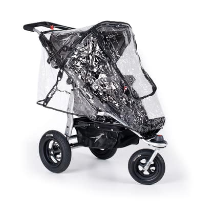 TFK Rain cover for Joggster - The rain cover is easy to use and is suitable for all TFK Joggster stroller models