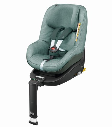 Детское автокресло Maxi-Cosi 2 Way Pearl  вкл. базу 2 Way Fix Nomad Green 2017 - большое изображение