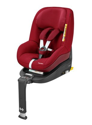 Детское автокресло Maxi-Cosi 2 Way Pearl  вкл. базу 2 Way Fix Robin Red 2017 - большое изображение