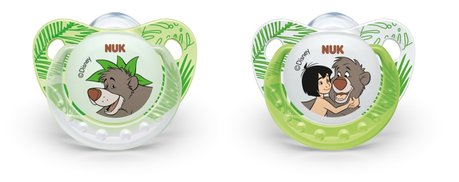 NUK Disney Jungle Book soothers Trendline with ring 2014 - large image