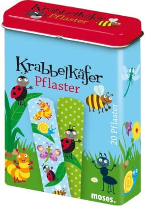 "Creepy crawly plasters -  The crawling beetles plaster is permeable to air and leaves the ""pain"" pass quickly"