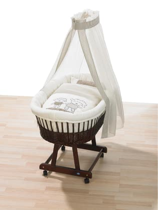 Alvi Bassinet set - Little Lamb - beige 2015 - large image
