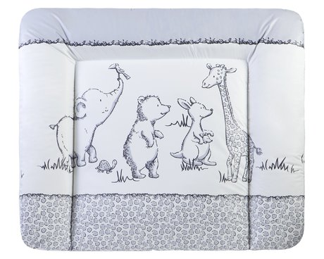 JULIUS ZÖLLNER Wickelauflage Softy 75/85 cm - Kids Style Safari - Großbild